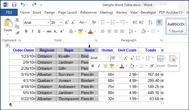 how to add a word on all rows in excel
