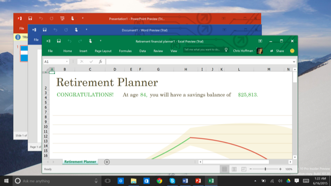 Why windows 10 offers two different versions of microsoft - Latest version of office for windows ...