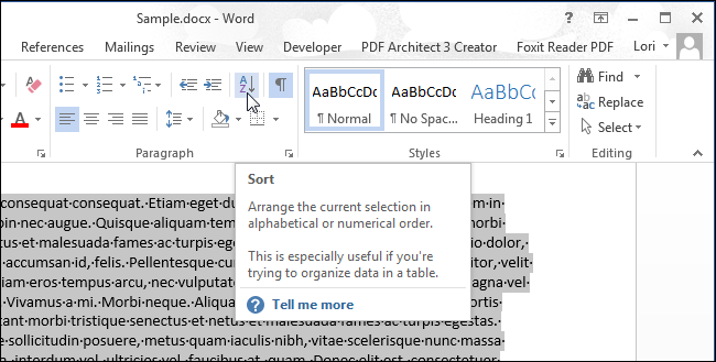 03_clicking_sort_tool