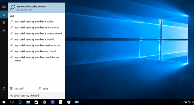 How to Disable Bing in the Windows 10 Start Menu