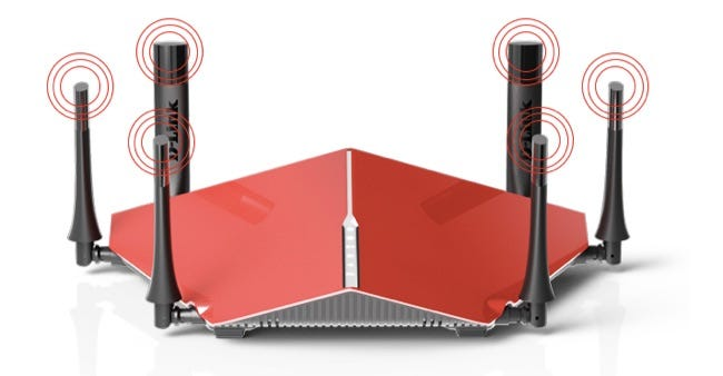 d-link ac3200 router
