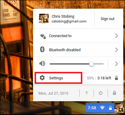 how to delete an account on chromebook
