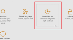 How to Manage Accessibility Features in Windows 10