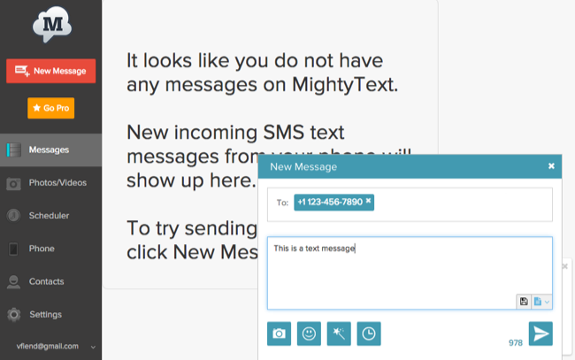 How to Send SMS Messages From Any PC or Mac