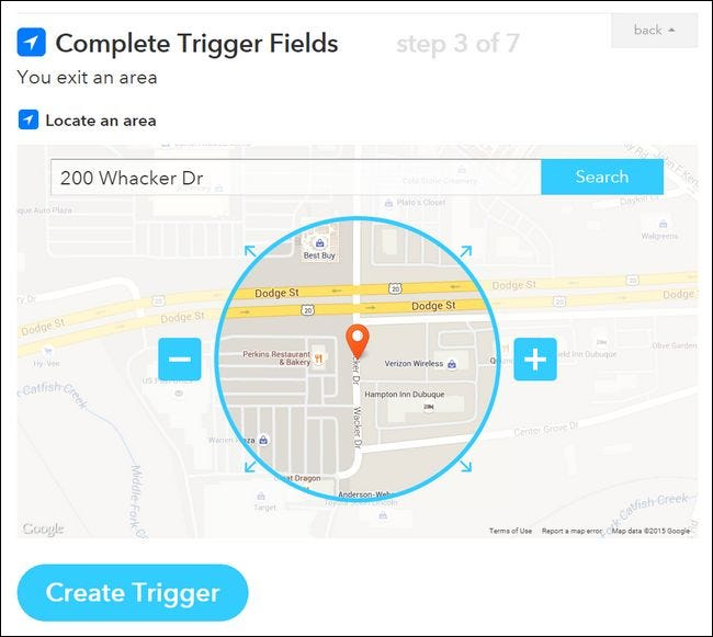 How to Create Geographic Event Triggers with Your Smartphone