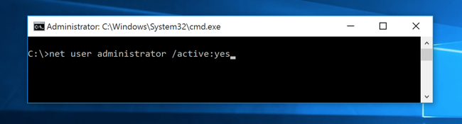 how to change administrator password in windows 10 using cmd from guest account