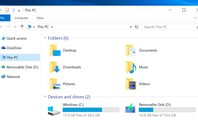 """How to Remove the Folders From """"This PC"""" on Windows 10"""