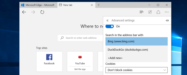 where is the search box in windows 10