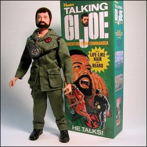 G.I. Joe Collector's Club reissue of the 1970 Adventure Team Talking Commander.