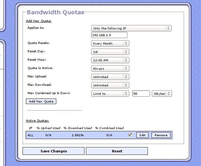 How to the Monitor the Bandwidth and Data Usage of Individual