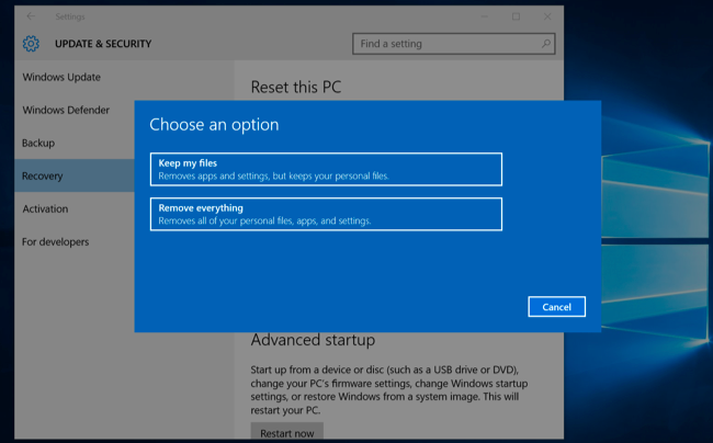 What you need to know about windows update on windows 10 windows wont have to update again after you reset your pc ccuart Image collections