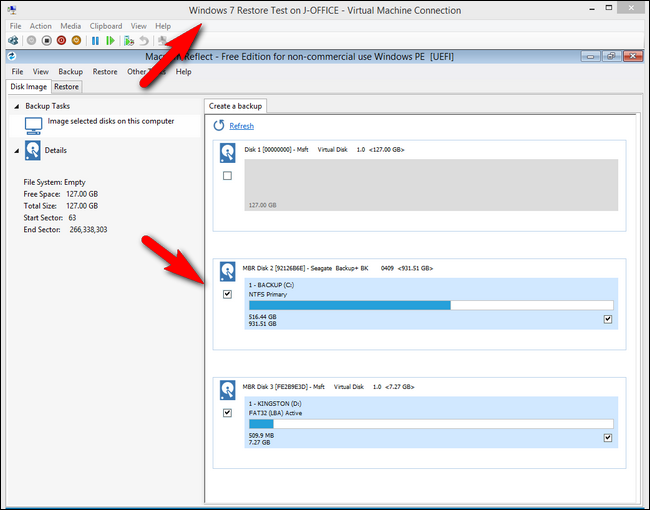 how to access local drive from vdi