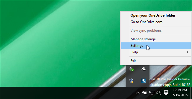 01_clicking_settings_for_onedrive