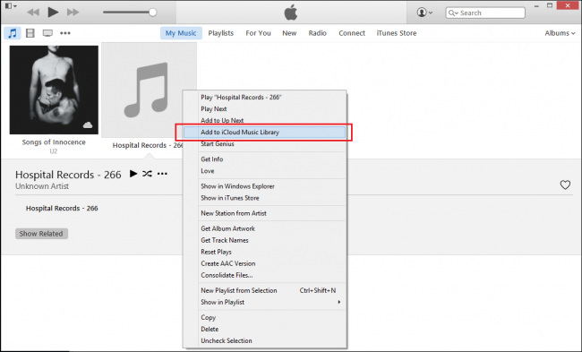 how to add music to itunes from pc