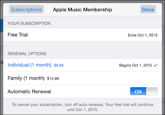 itunes all access pass subscription