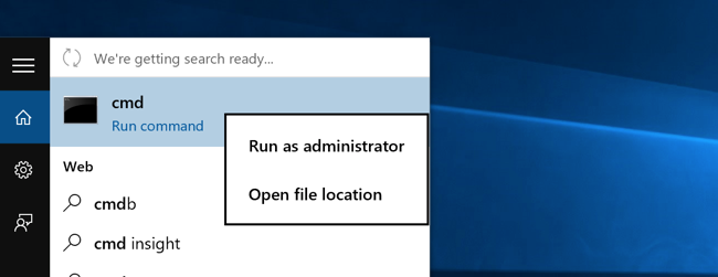 Enable the hidden administrator account on windows 7 8 or 10 if you are in windows 8x or 10 you can right click on the start button and choose to open a command prompt that way ccuart Choice Image