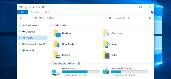 how to remove the folders from  u201cthis pc u201d on windows 10