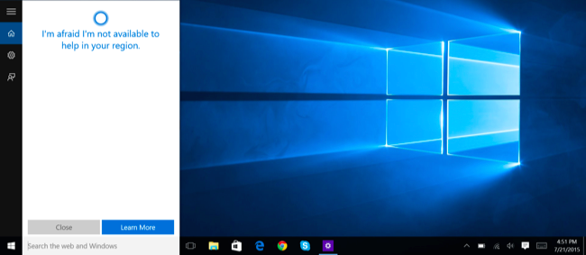 How to Enable Cortana Anywhere in the World on Windows 10