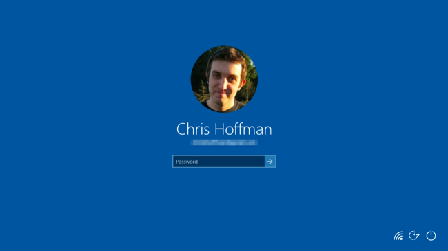 how to change the password screen background on windows 10