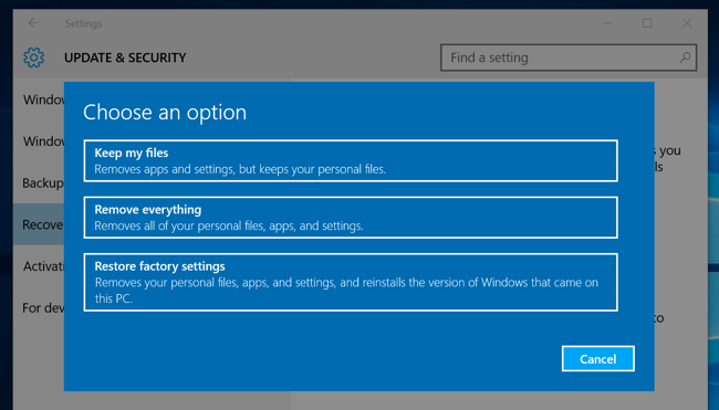 How to do a Clean Install of Windows 10, the Easy Way