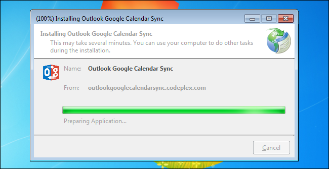 03_installing_google_calendar_sync the outlook google calendar sync