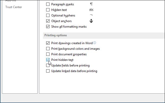 04_selecting_print_hidden_text_check_box