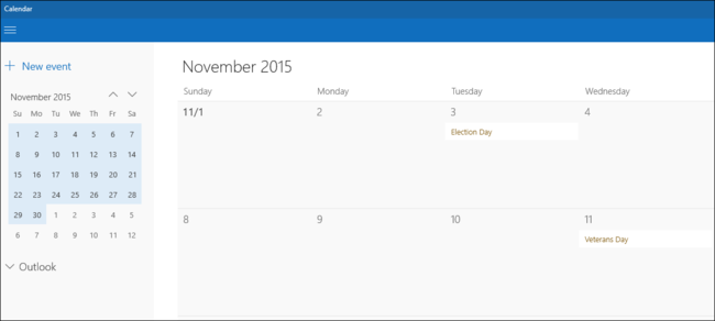 Calendario Windows 10 Su Desktop.How To Use Your Google Calendar In The Windows 10 Calendar App