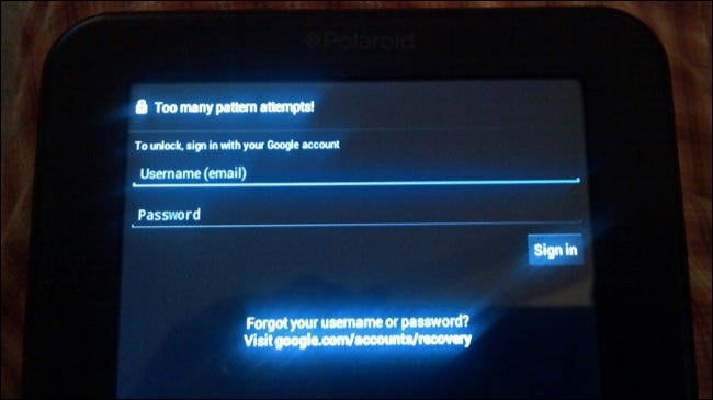 android bypass patern