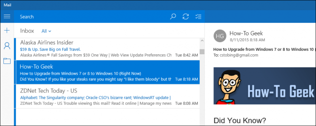 How to Configure a POP3 Email Account in Windows 10