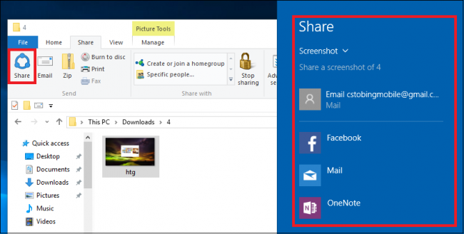 What is the Windows 10 Share Feature, and How Do I Use It?