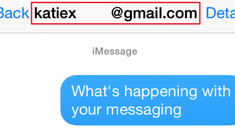 Why Do Some iMessages Show Up as an Email Instead of a Phone Number?
