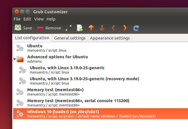 Ubuntu updating bootloader