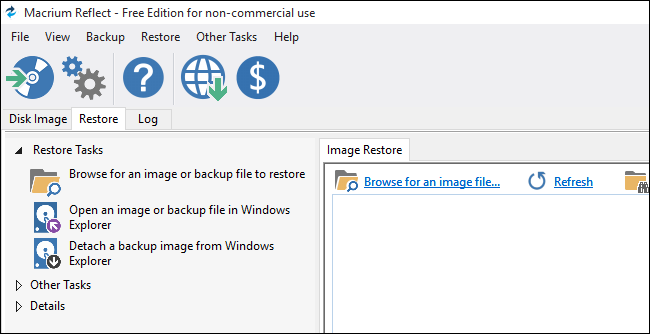 How to restore from Macrium Reflect backup to new PC with