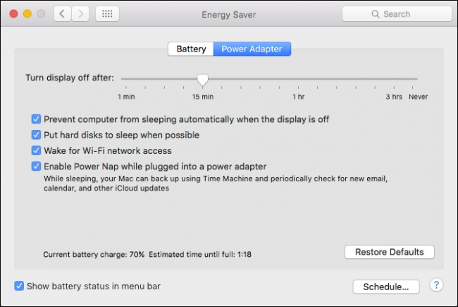 How to Temporarily Prevent Your Mac from Sleeping