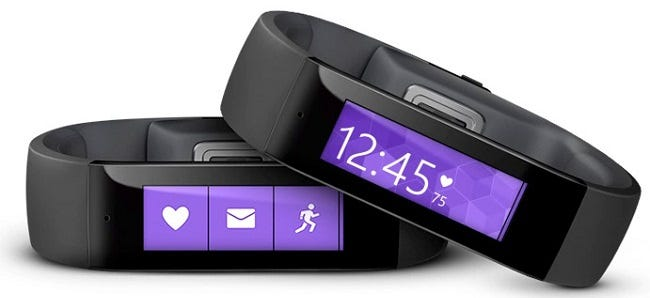 Microsoft: Smartwatch Is Likely a Smart Band