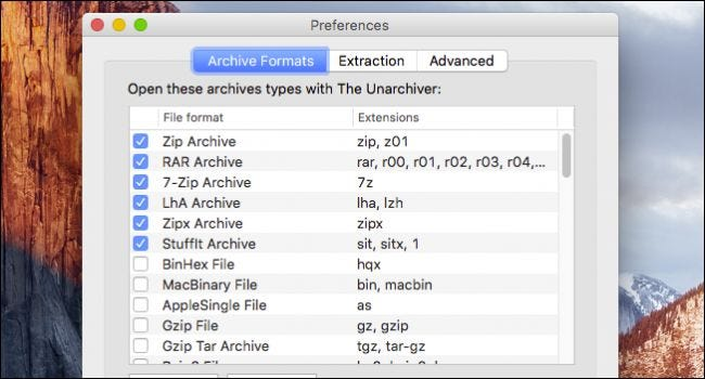 how to open a zip file on mac