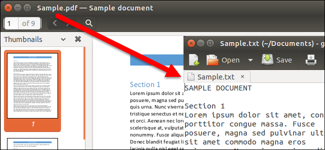 How to Convert a PDF File to Editable Text Using the Command