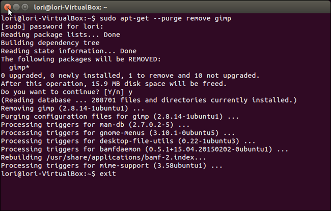 How to Uninstall Software Using the Command Line in Linux