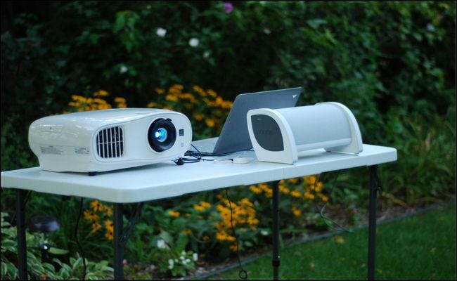 best projector for outdoor cinema