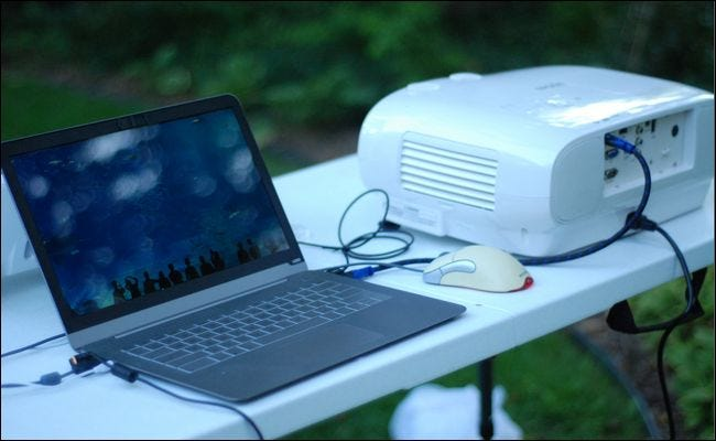Image result for How to connect the projector to a laptop