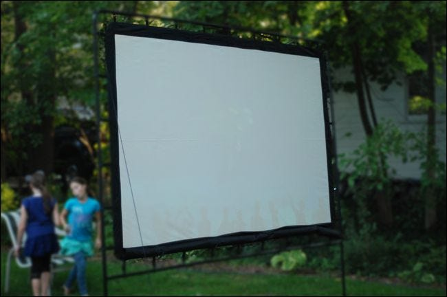 Backyard Movie Projectors how to throw the ultimate backyard movie night