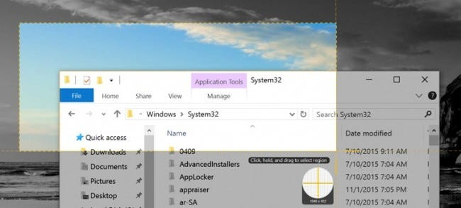 How to take screenshots in windows 10 all of windows built in methods have their their own pros and cons if you take a lot of screenshots and want more flexibility than the built in tools ccuart Choice Image
