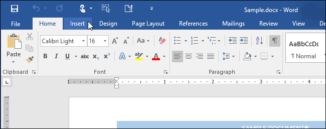 word how to change order of pages