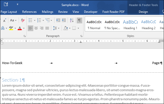 how to delete header on last page in word