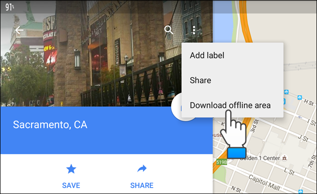 How to Use Offline Google Maps on Android or iPhone - Tips ... Google Maps Android Download Offline on google sync android, google chrome search, city maps 2go android, google maps android icon, google docs offline android,