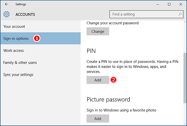 cant sign into microsoft account on windows 10