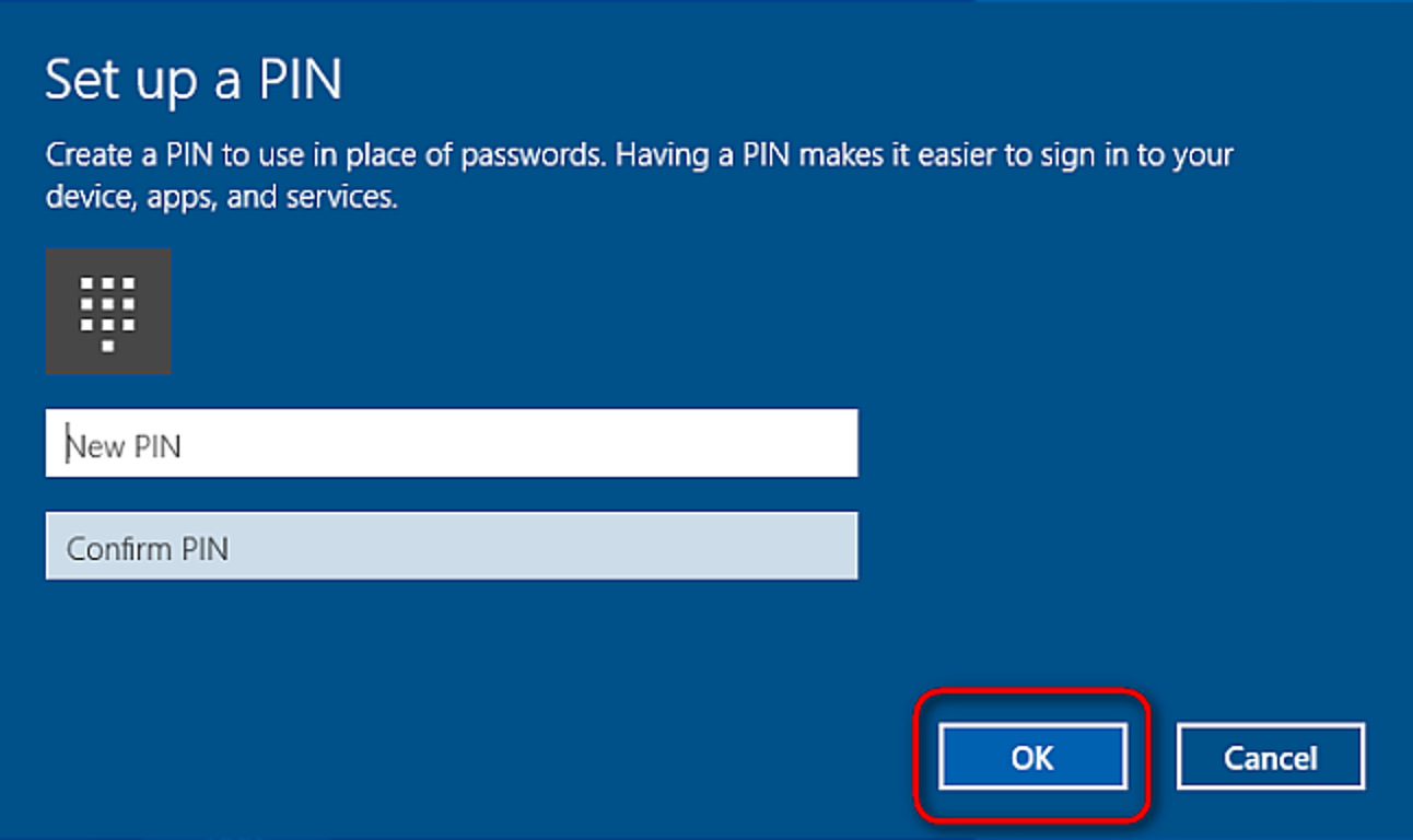 How to Add a PIN to Your Account in Windows 9