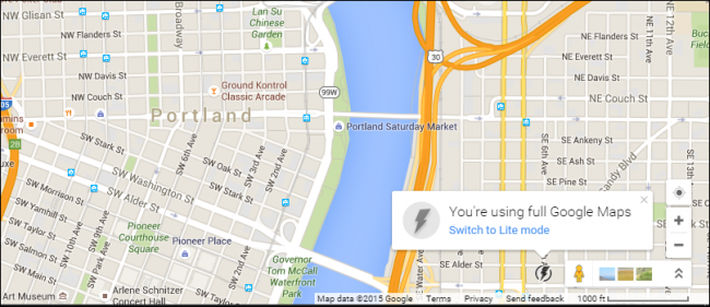 "What is Google Maps ""Lite"" Mode, and Should I Use It?"