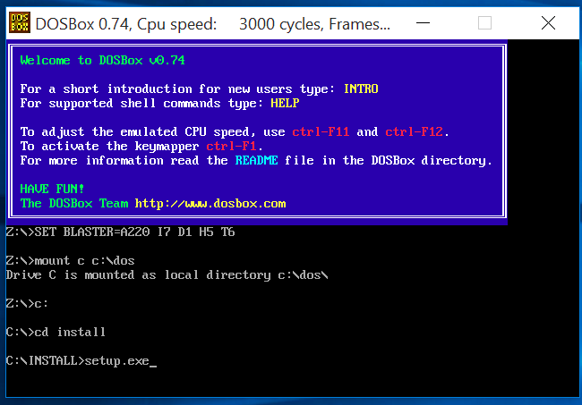 DOSBOX VGA WINDOWS 10 DRIVER DOWNLOAD