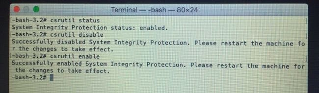 How to Disable System Integrity Protection on a Mac (and Why